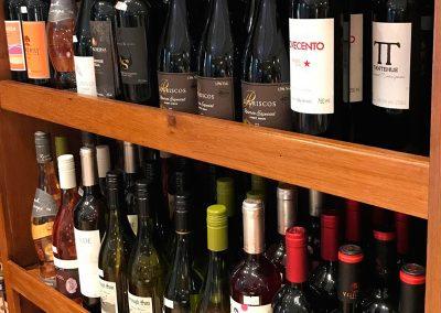 Carta de vinhos diferenciados